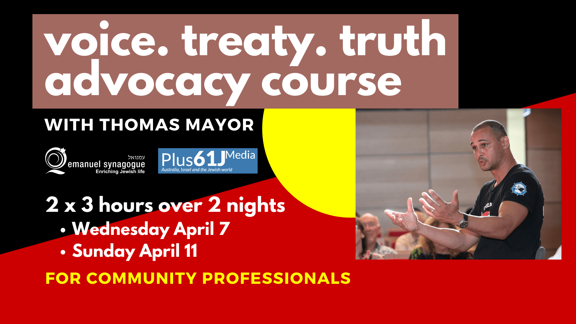 oice. treaty. truth advocacy course March 202